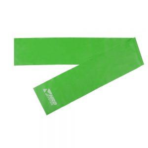 Guma do ćwiczeń zielona szeroka